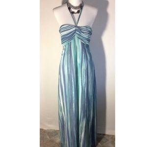 Lauren Conrad Water Colored Maxi Dress